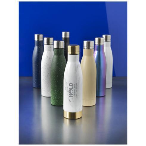 Vasa 500 ml Holz-Optik Kupfer-Vakuum Isolierflasche