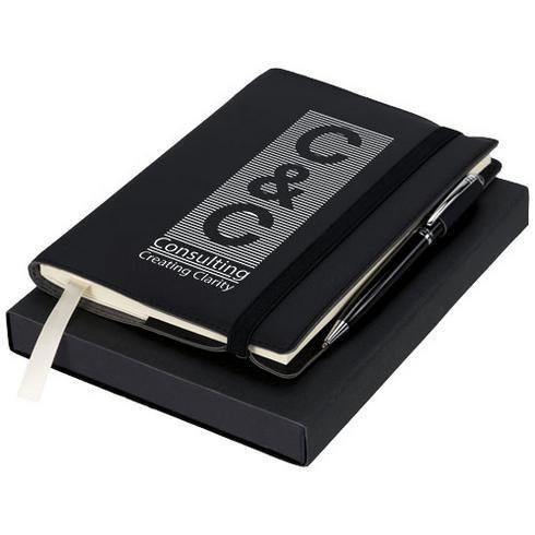 Aria Notizbuch mit Stift Geschenkset