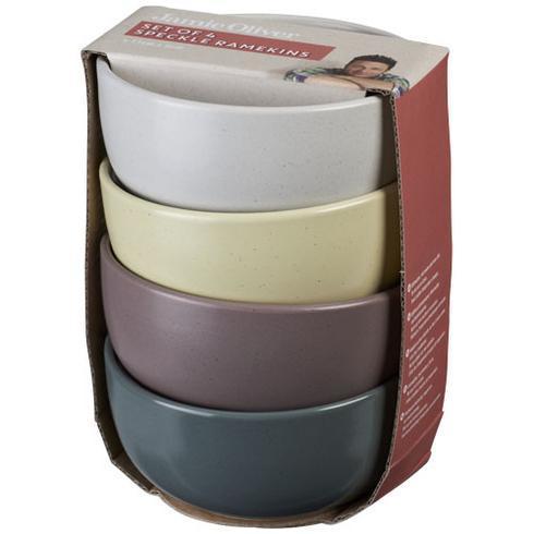 York 4er Set mehrfarbige Schalen