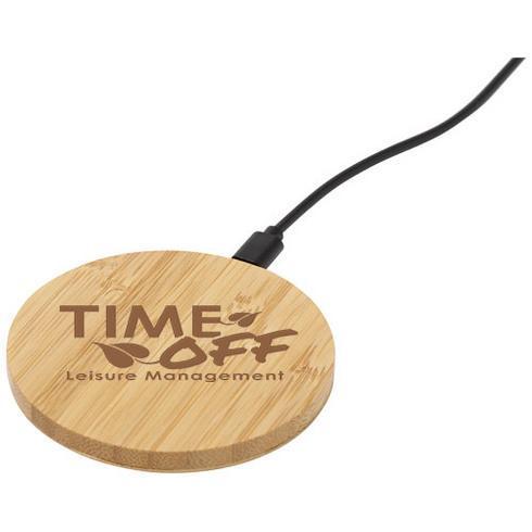 Essence kabelloses Ladepad aus Bambus