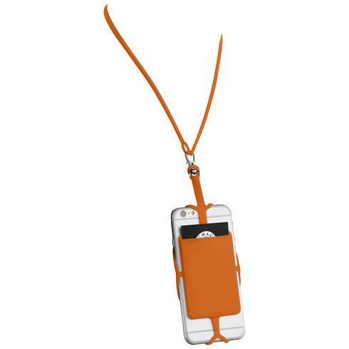 Silikon RFID Kartenhalter mit Lanyard