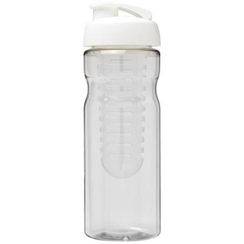 H2O Base® 650 ml Sportflasche mit Klappdeckel und Infusor