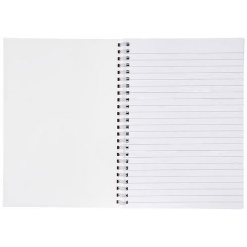 Desk-Mate® A4 Notizbuch mit Kunststoff Cover und Spiralbindung