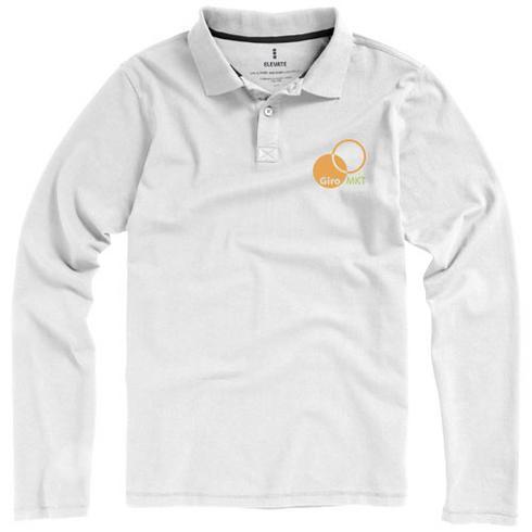 Oakville langärmliges Poloshirt für Herren